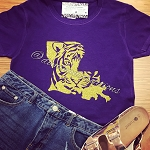 LSU Tiger Boot