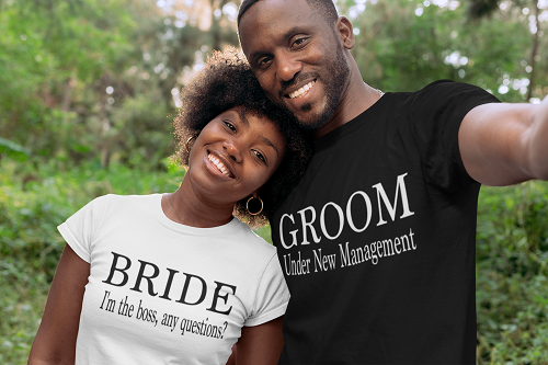 Bride and Groom Set